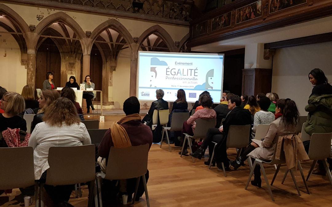 Évènement régional «Égalité professionnelle en action»